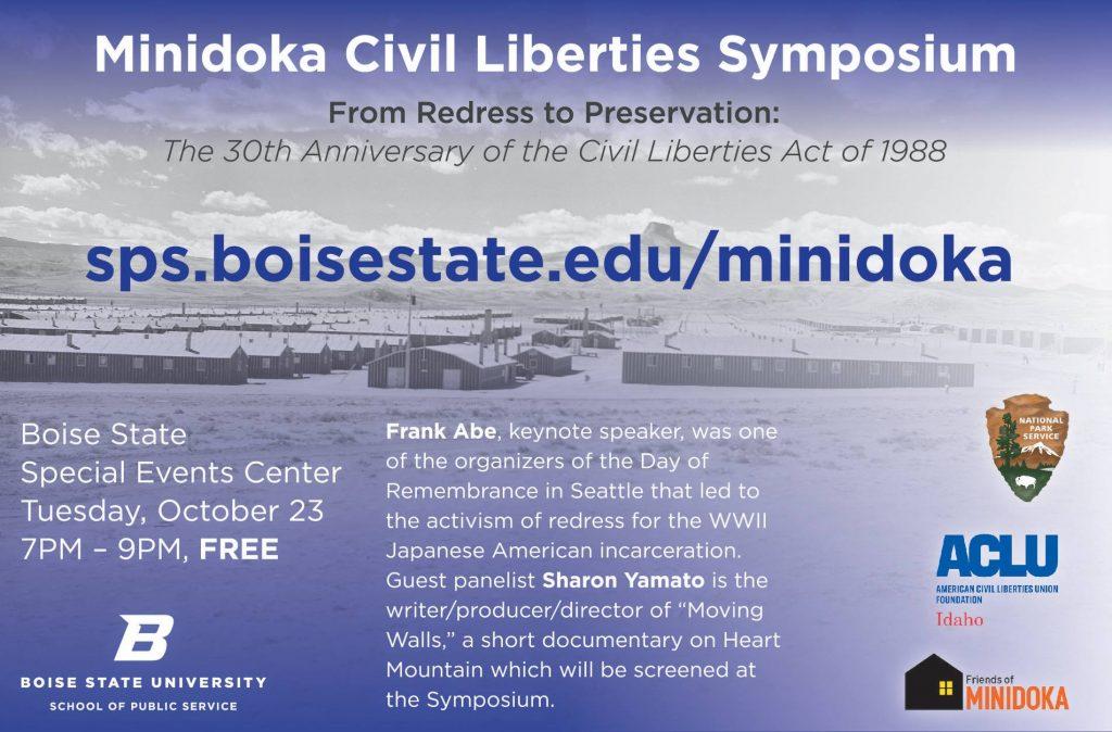 Civil Liberties Symposium ad